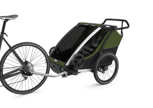 thule chariot cab cypress green cykelvagn