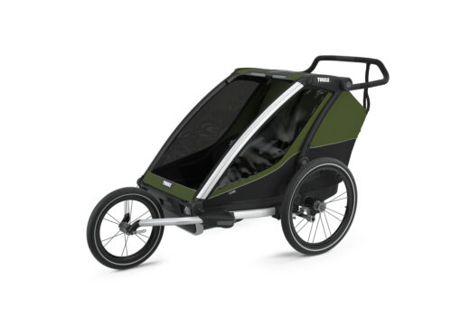thule chariot cab cypress green jogging kit