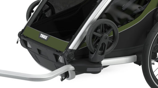 thule chariot cab store strolling