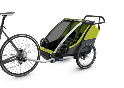 thule chariot cab med cykelkit