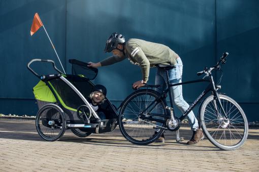 thule chariot cab cykel