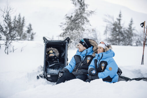 thule chariot skidvagn