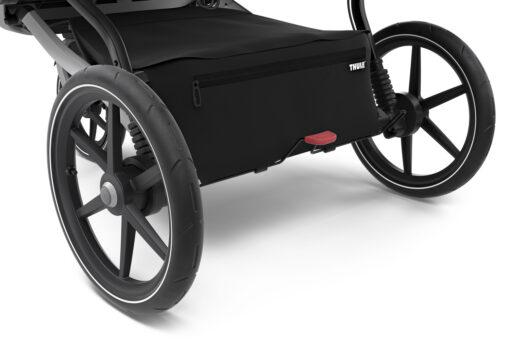 thule urban glide 2 double stora bakhjul