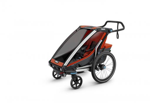 thule chariot cross orange