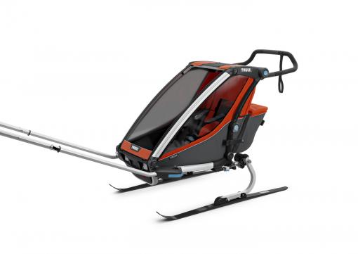 thule chariot cross skidor