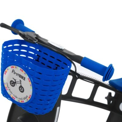 firstbike cykelkorg barn blå