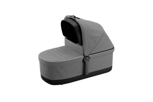 thule sleek grey melange bassinet