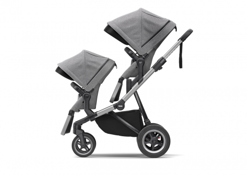 thule sleek duo syskonvagn