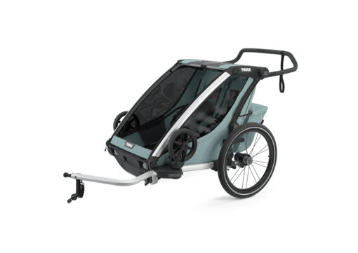 thule chariot cross 2 alaska cykel kit