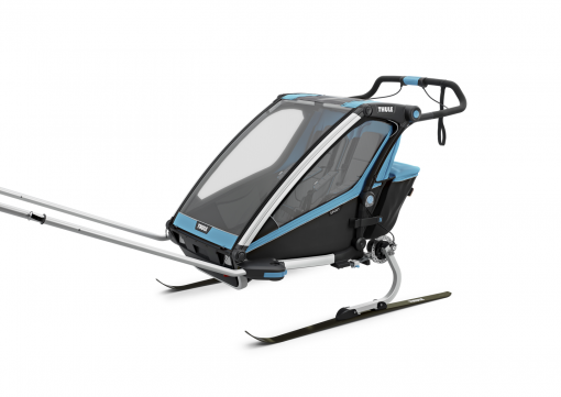 thule chariot sport 2 skidvagn