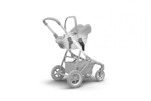 thule sleek bilstol adapter