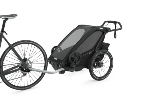 thule chariot sport midnight black cykelvagn
