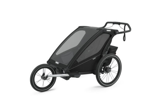 thule chariot sport 2 midninght black jogging kit