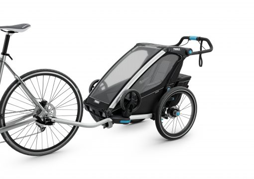 thule chariot sport 1 black cykelvagn