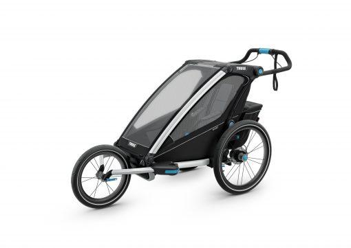thule chariot sport 1 black jogging