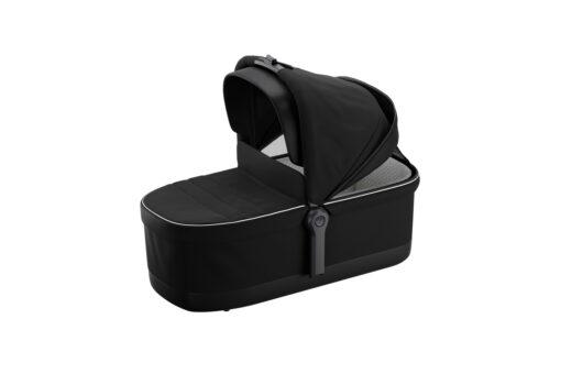 thule sleek midnight black on black bassinet sufflett
