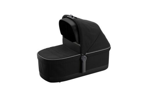 thule sleek midnight black on black bassinet