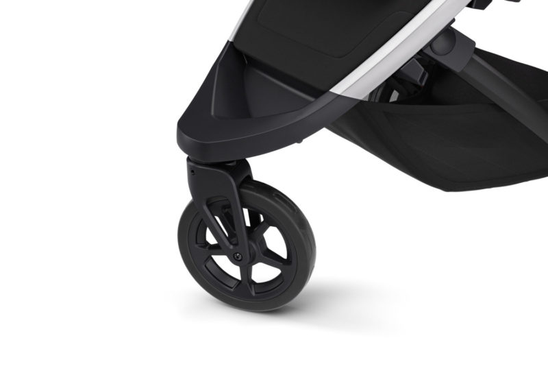 thule spring barnvagn swirvel hjul fram
