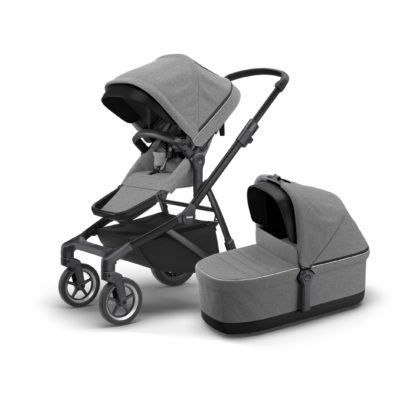 thule sleek duo svart grey melange