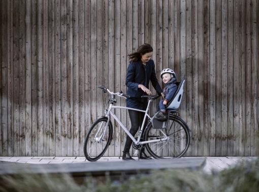 thule yepp nexxt maxi cykelbarnstol pakethållare