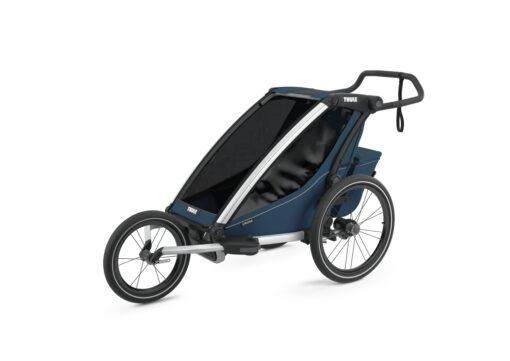 thule chariot cross majolica blue jogging