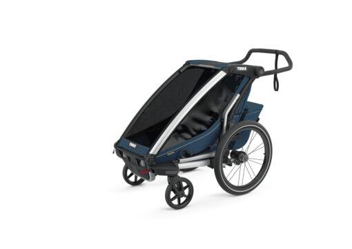 thule chariot cross majolica blue