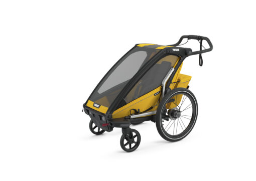 thule chariot sport black spectra yellow