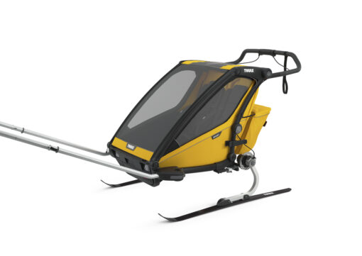 thule chariot sport 2 black spectra yellow