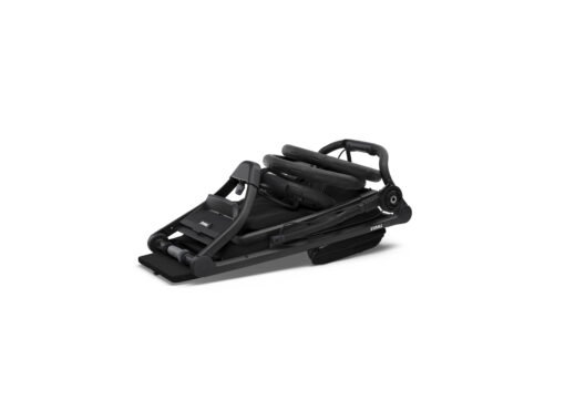 thule urban glide 2 black on black ihopfälld