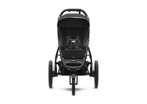 thule urban glide 2 black on black seat