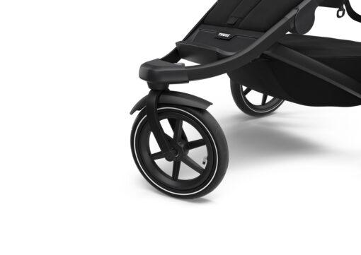 thule urban glide black on black swirvelhjul fram