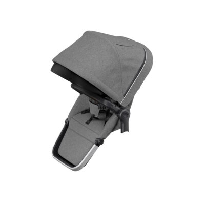 thule sleek sibling seat grey melange