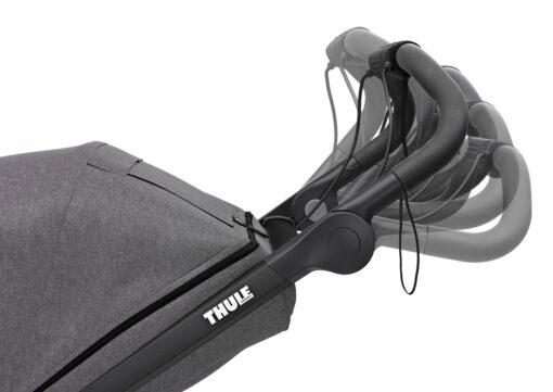 thule urban glide 2 justerbart handtag grey melange
