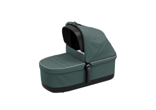 thule sleek bassinet mallard green