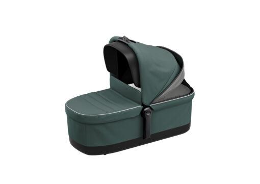 thule sleek mallard green bassinet